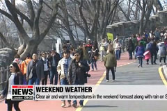 Fine dust dissipates on Saturday, accompanied by mild temperatures