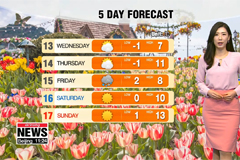 Brief spring cold snap to bring chillier temperatures
