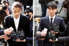 K-Pop stars Seungri & Jung Joon-young questioned in sex scandal