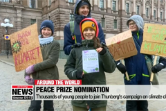 Swedish teenager and climate campaigner nominated for Nobel Peace Prize