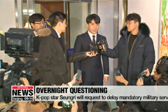 K-pop stars Seungri & Jung Joon-young released after overnight police questioning