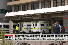 New Zealand's prime minister was sent mosque shooter's manifesto minutes before attack