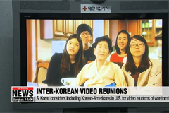 S. Korea considers including Korean-Americans for inter-Korean video reunions of war-torn families