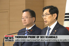 S. Korean gov't vows thorough probe of sex scandals
