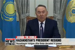 Kazakhstan's president resigns after three decades in power