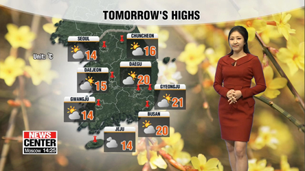 Cold wind starts to blow on Thursday afternoon