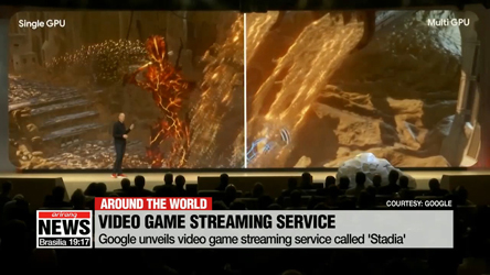 Google unveils video game streaming service called 'Stadia'