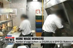Number of wage workers up 213,000 y/y in 2018 Q3