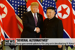 Trump gave several options to Kim Jong-un on denuclearizing N. Korea: Bolton