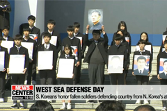 S. Koreans honor fallen soldiers on West Sea Defense Day