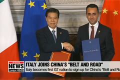Italy becomes first G7 nation to sign up for China's 'Belt and Road'