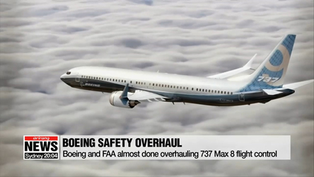 Boeing and FAA almost done overhauling 737 Max 8 flight control