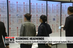 Korea's economic outlook not bright given external factors: Blue House