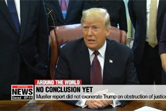 Dems demand full Mueller report; Trump says OK with him
