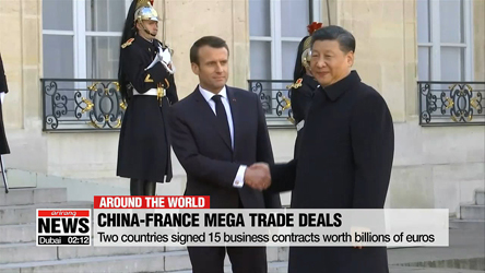 France, China sign mega trade deals as Xi Jinping meets Macron