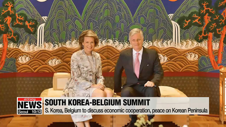 Belgium promises support for peace process on Korean Peninsula