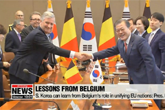 Belgium reaffirms support for peace efforts on Korean Peninsula