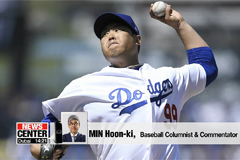Ryu Hyun-jin becomes second S. Korean pitcher to win MLB Opening Day game