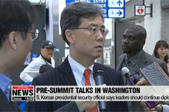S. Korea's presidential security official stresses importance of 'top-down' approach