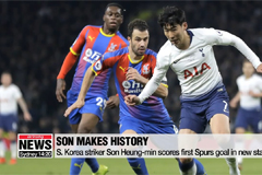 Son Heung-min scores first P