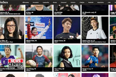 Korean footballers Lee Kang-in and Jo Hyeon-woo on Forbes 30 Under 30 Asia list