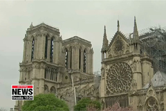 Macron pledges to reconstruct Notre Dame Cathedral in the next 5 years