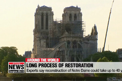 Expert says it could take 40 years to rebuild Notre Dame