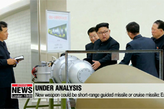 N. Korean leader Kim Jong-un supervises test-fire of 'new tactical guided weapon'