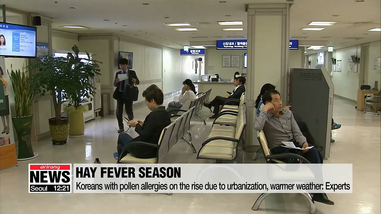 Spring allergies lasting longer this year due to warmer temperatures