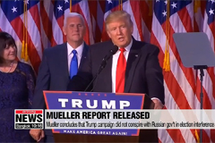 Mueller report finds no Trump-