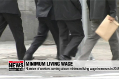 Number of workers earning abov