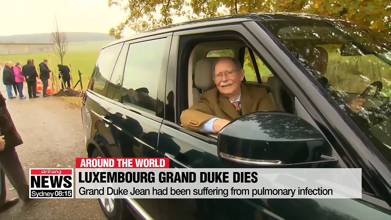 Grand Duke Jean of Luxembourg dies aged 98