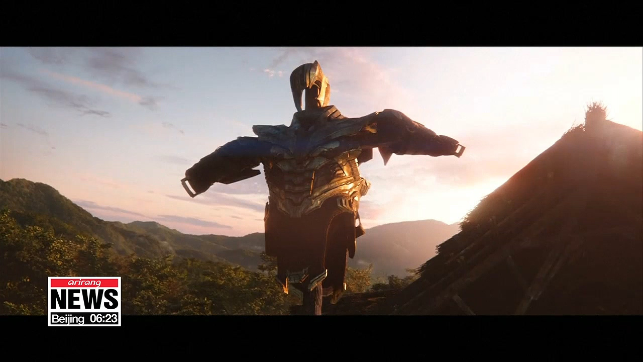 'Avengers: Endgame' hits record 2 million advance cinema ticket sales in S. Korea