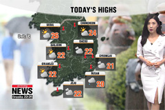 Dry conditions from noon, warm highs