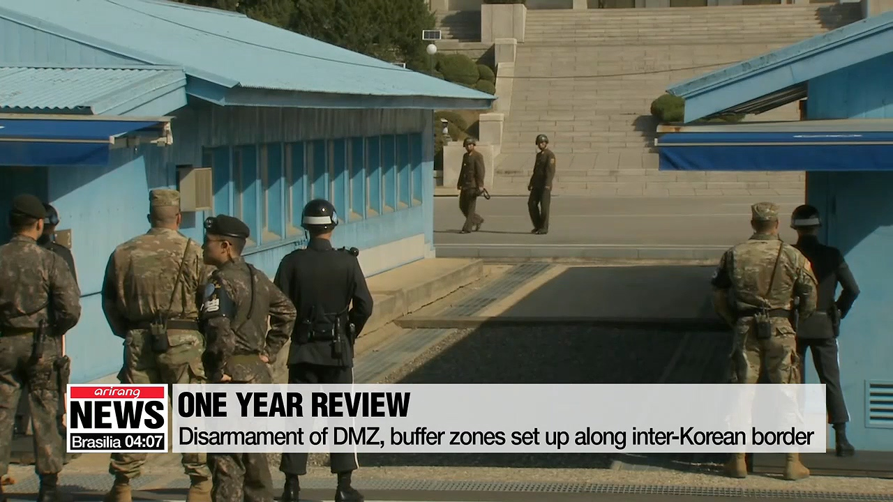 Progress, set-backs in implementing inter-Korean Comprehensive Military Agreement over past year