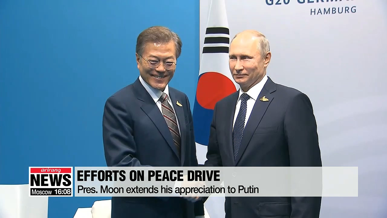 Moon says Vladivostok summit expected to 'constructively contribute' to peace drive on Korean Peninsula