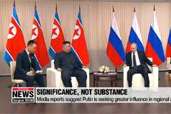 Media reports suggest Kim-Putin summit was about show, not substance