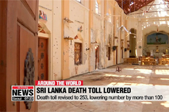 Death toll in Sri Lanka attacks lowered by more than 100