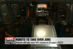 Robots will take over 14% of jobs in 20 years: OECD