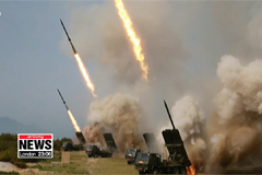 """North Korea defends firing of projectiles as """"self-defensive, normal training"""""""
