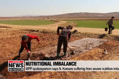 WFP spokesperson says N. Koreans suffering from severe nutrition imbalance