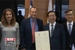Seoul's mayor returns from 8-day trip to London, Tel Aviv and Abu Dhabi