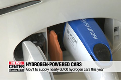 South Korea to supply nearly 6,400 hydrogen cars this year