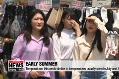 Only mid-May but temperatures in S. Korea soaring already