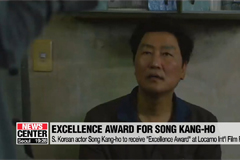 S. Korean actor Song Kang-ho to receive 'Excellence Award' at Locarno Int'l Film Festival