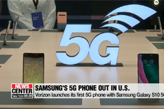 Verizon launches its first 5G phone with Samsung G10