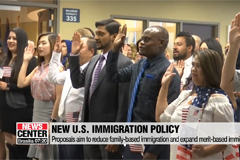 Trump announces new immigration policy favoring high-educated and skilled immigrants