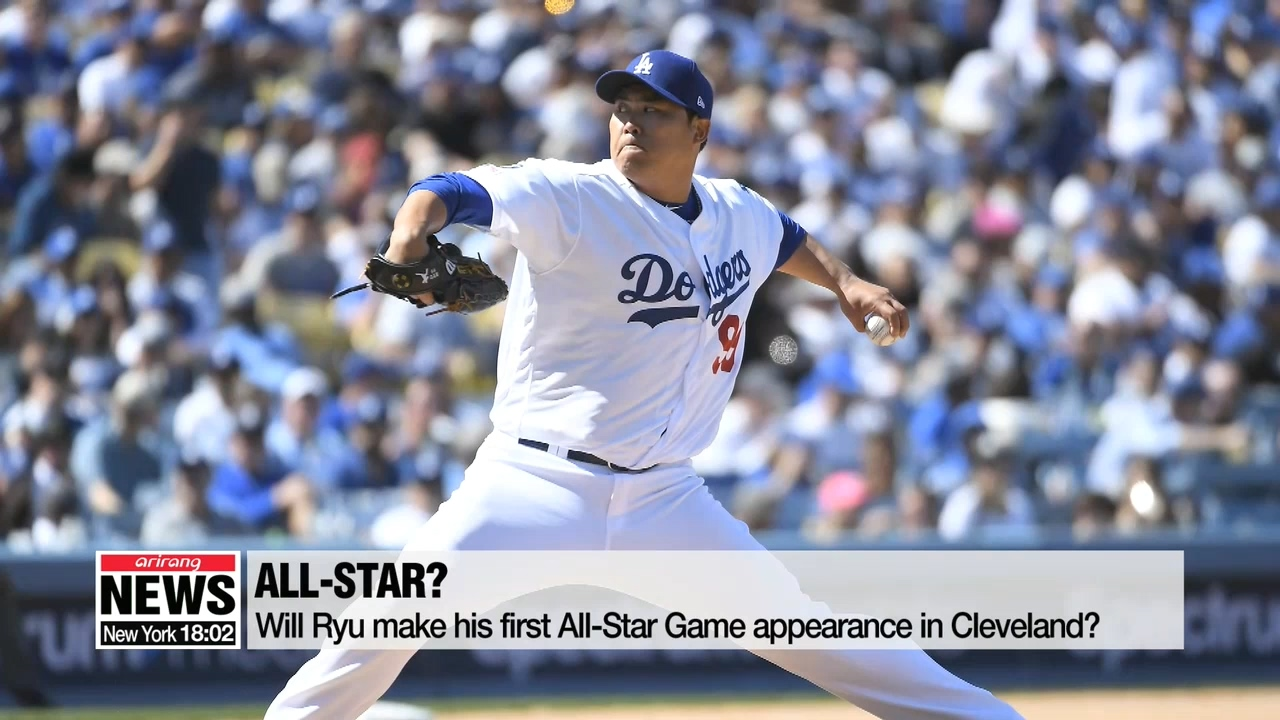 Ryu Hyun-jin throws 7 scoreless innings against Cincinnati Reds for his 6th win
