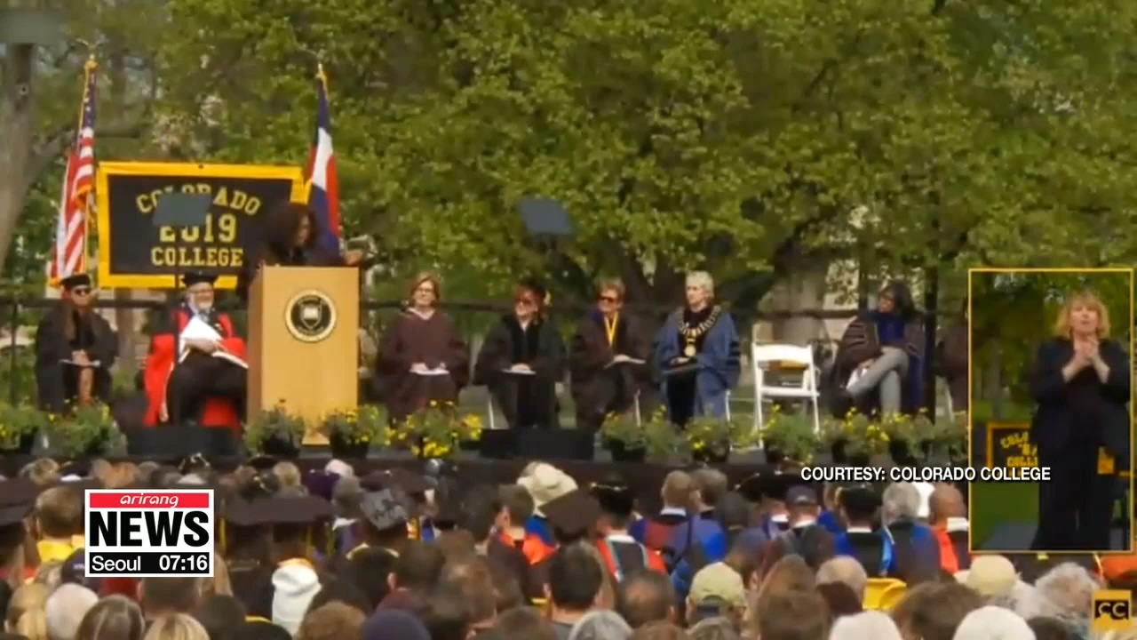 """Oprah Winfrey receives honorary doctorate, tells graduates """"pay attention"""""""