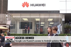 Google reportedly cuts off some business with Huawei following Trump's trade blacklist